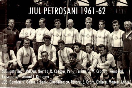 Legendele sportului Văii Jiului A promovat ca jucător, a câştigat Cupa României ca antrenor, Traian Ivănescu