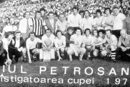 Jiul Petrosani în Cupa României 1974