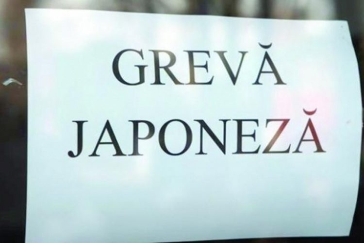 Greva japoneza in scolile din Covasna